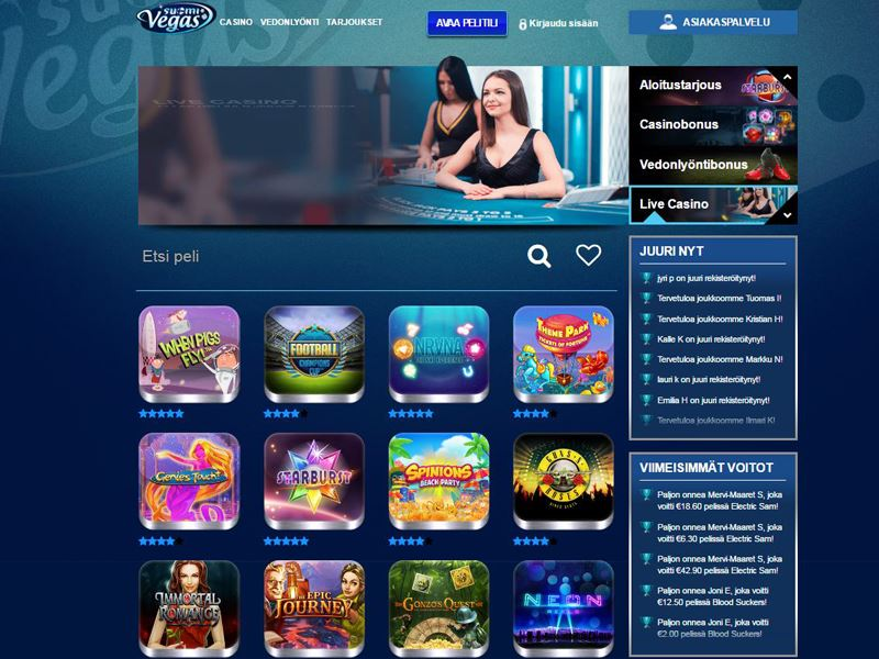 Casino preview image Suomi Vegas Casino