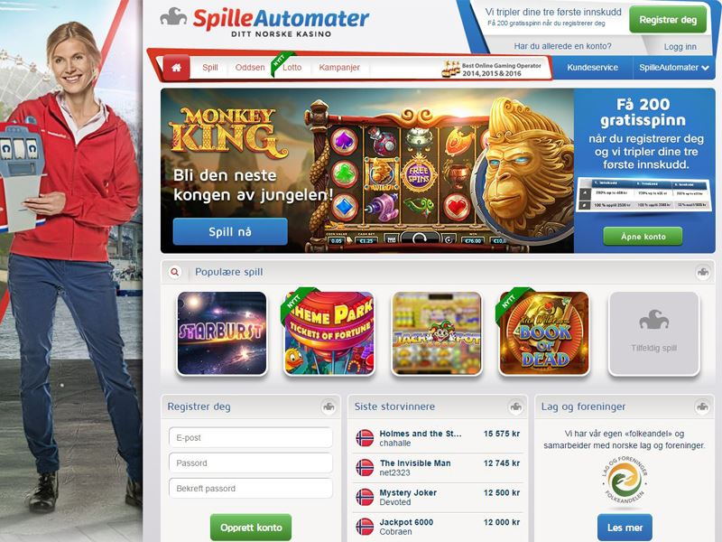 Casino preview image SpilleAutomater