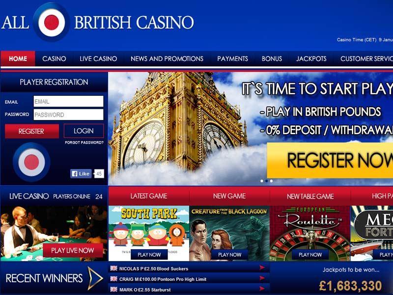 Casino preview image All British Casino