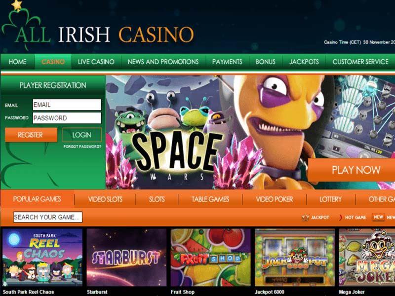 Casino preview image All Irish Casino