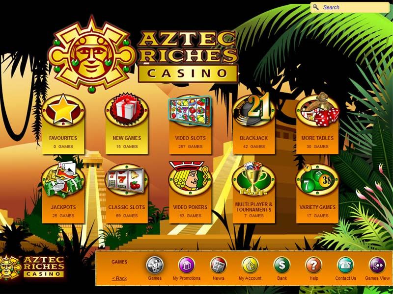 Casino preview image Aztec Riches Casino