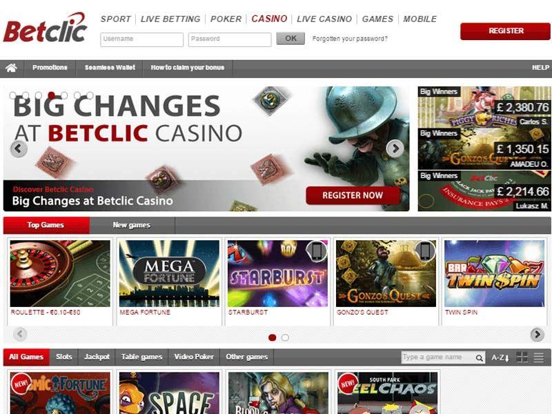Casino preview image BetClic Casino