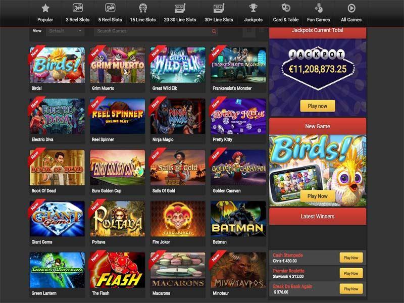 Casino preview image BetJoy Casino