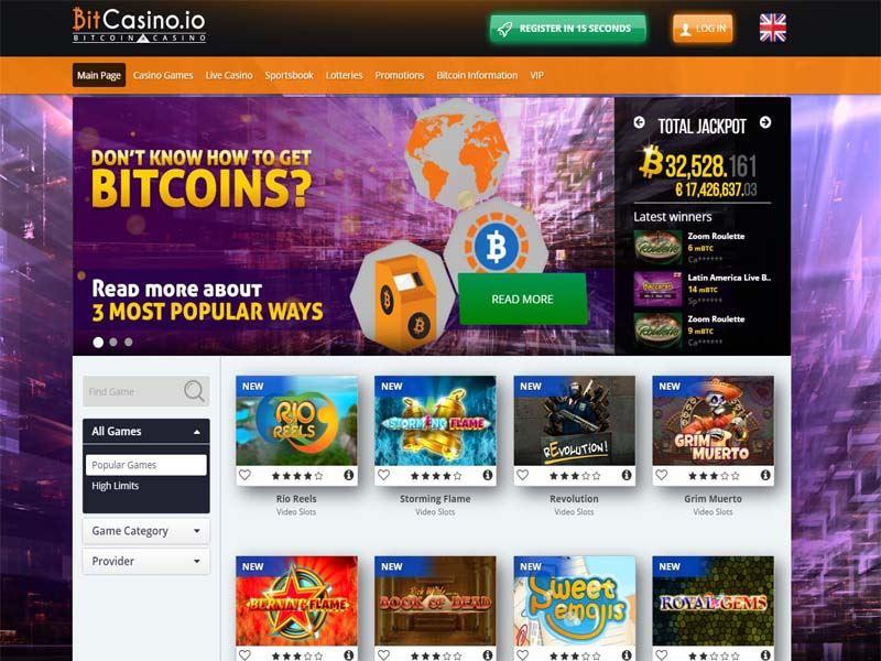 Casino preview image BitCasino