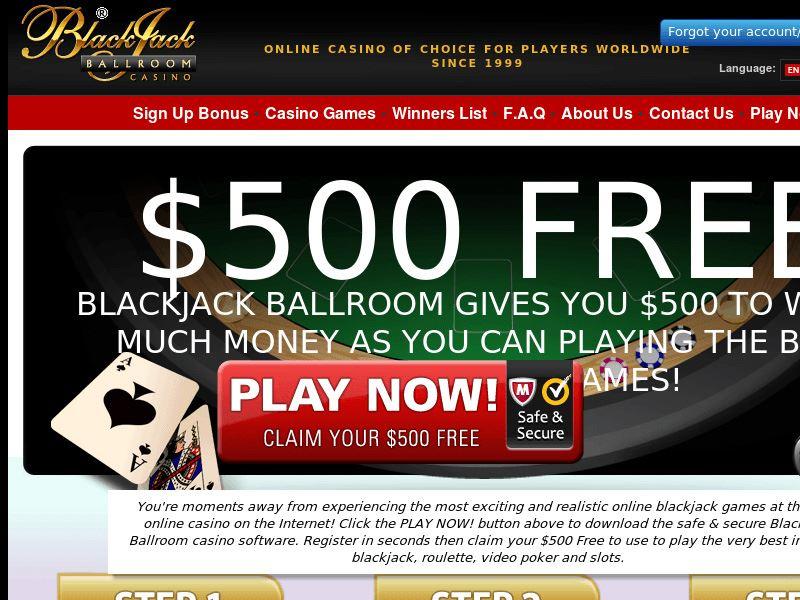 Casino preview image Blackjack Ballroom Casino