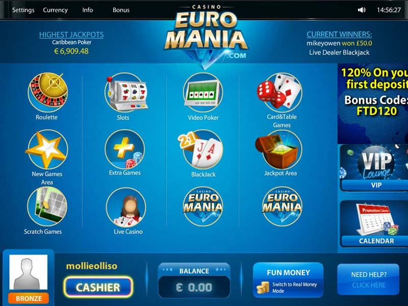 Casino preview image Casino Euromania