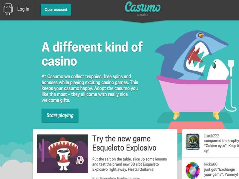 Casino preview image Casumo Casino