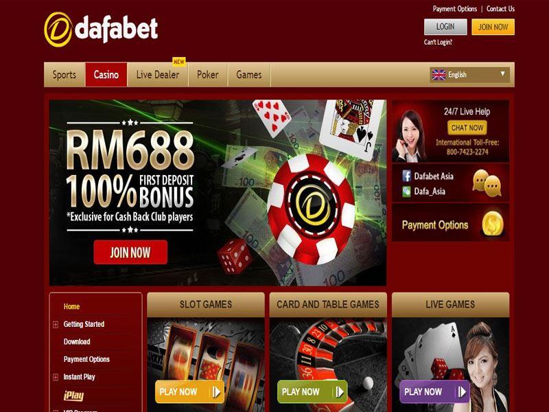 Casino preview image Dafabet Casino