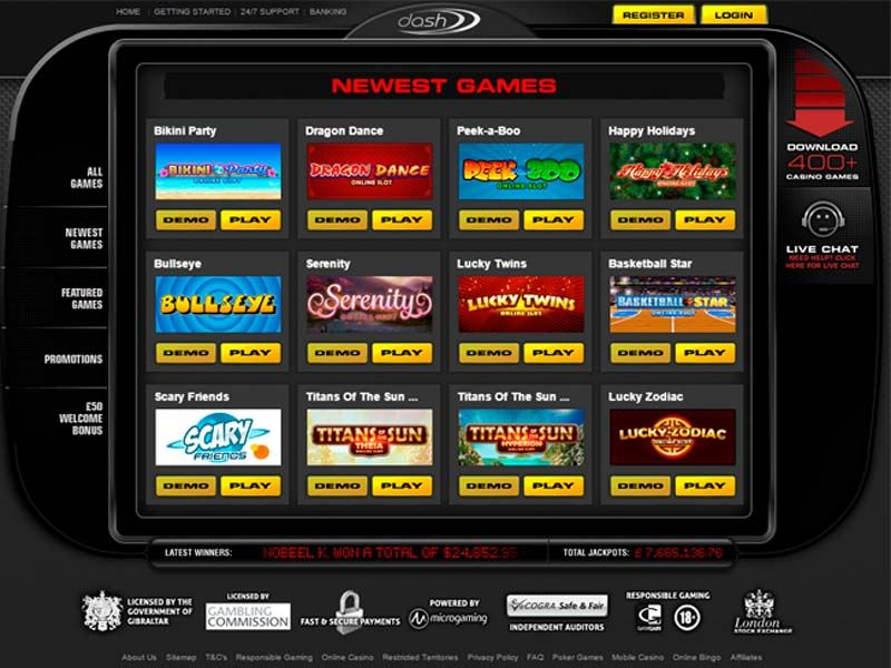 Casino preview image Dash Casino