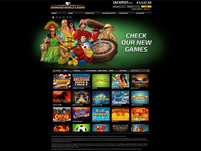 Casino preview image Diamond World Casino