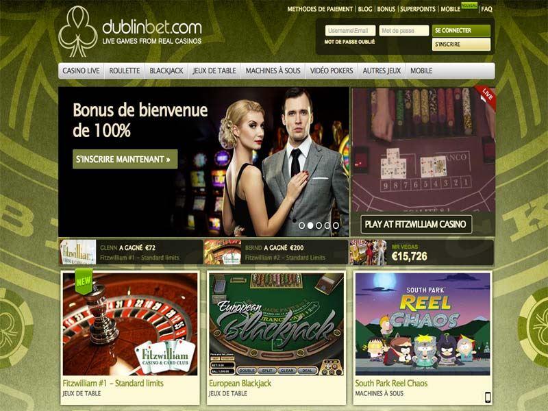 Casino preview image Dublinbet