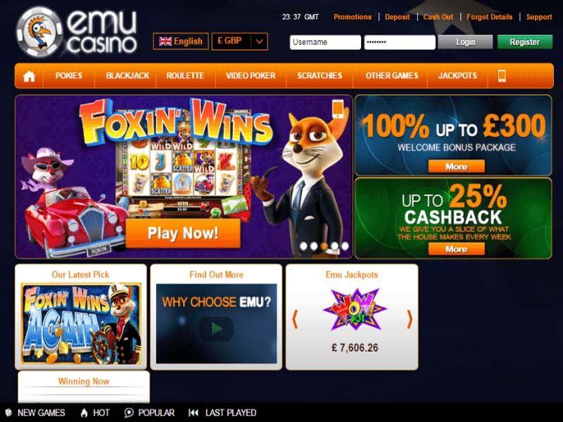 Casino preview image Emu Casino