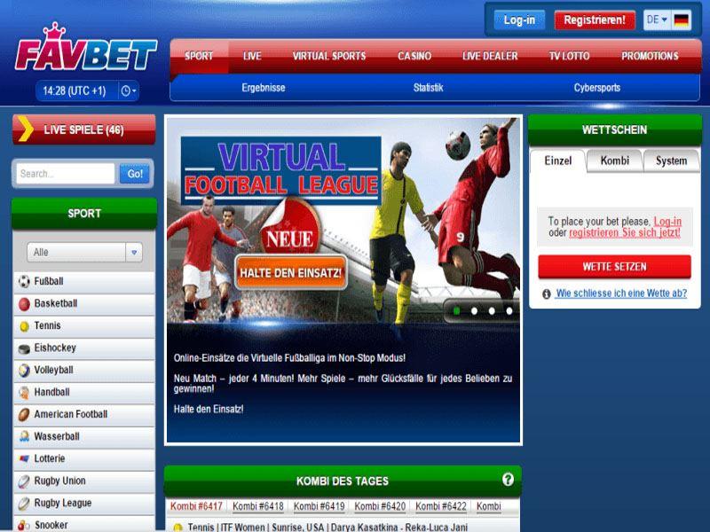 Casino preview image FavBet Casino