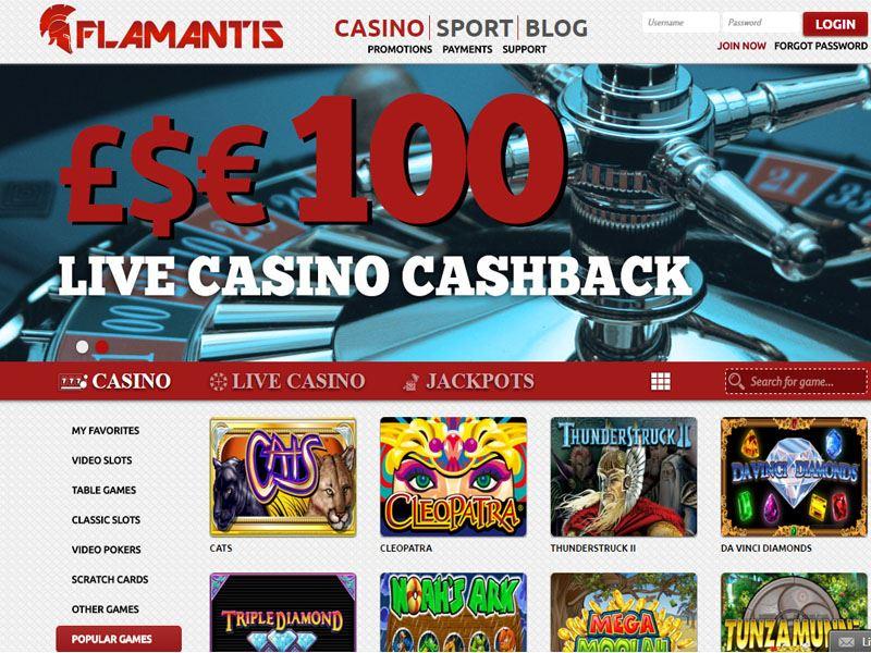 Casino preview image Flamantis Casino