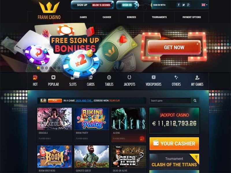 Casino preview image Frank Casino
