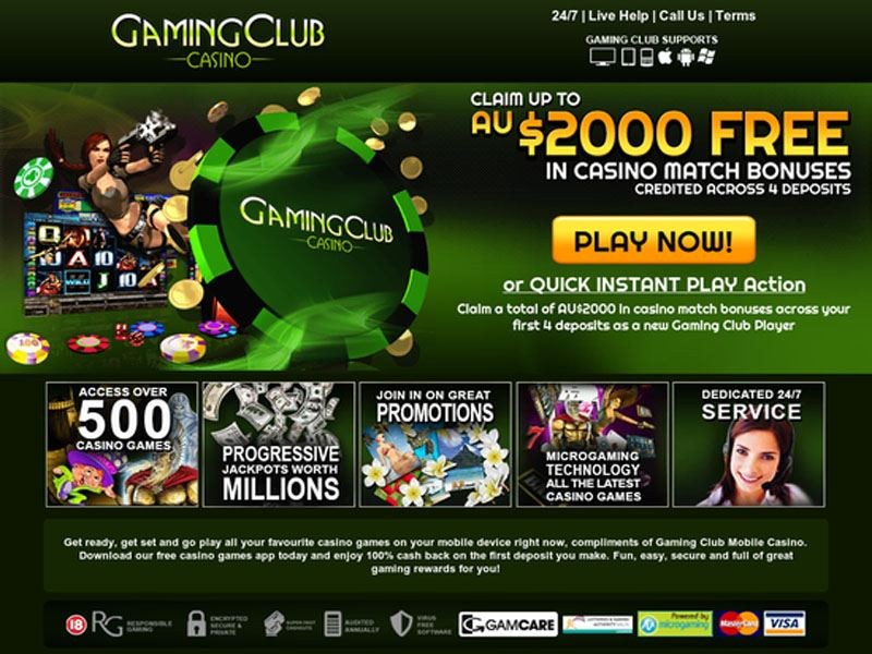 Casino preview image Gaming Club