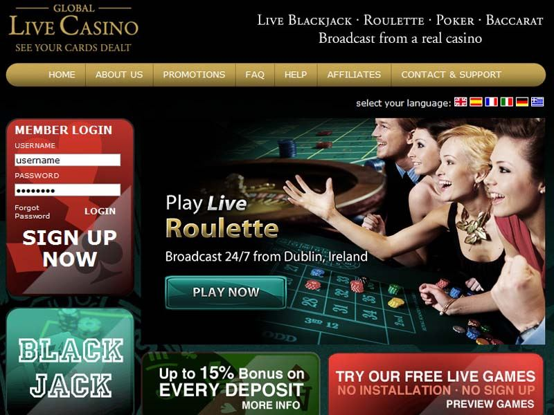 Casino preview image Global Live Casino