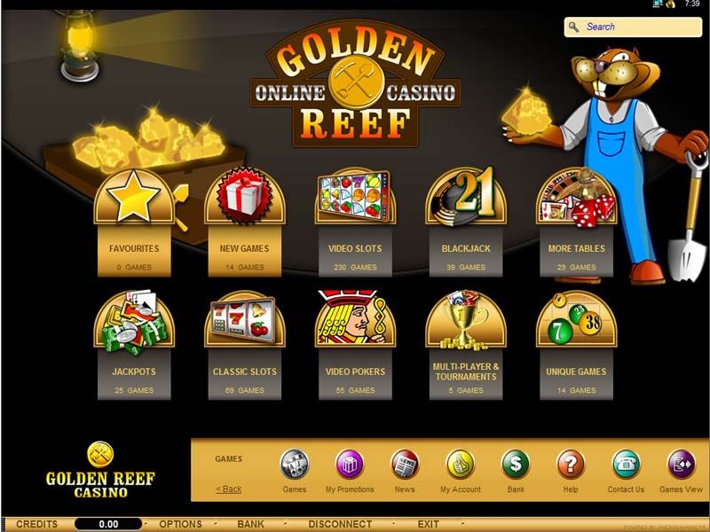 Casino preview image Golden Reef Casino