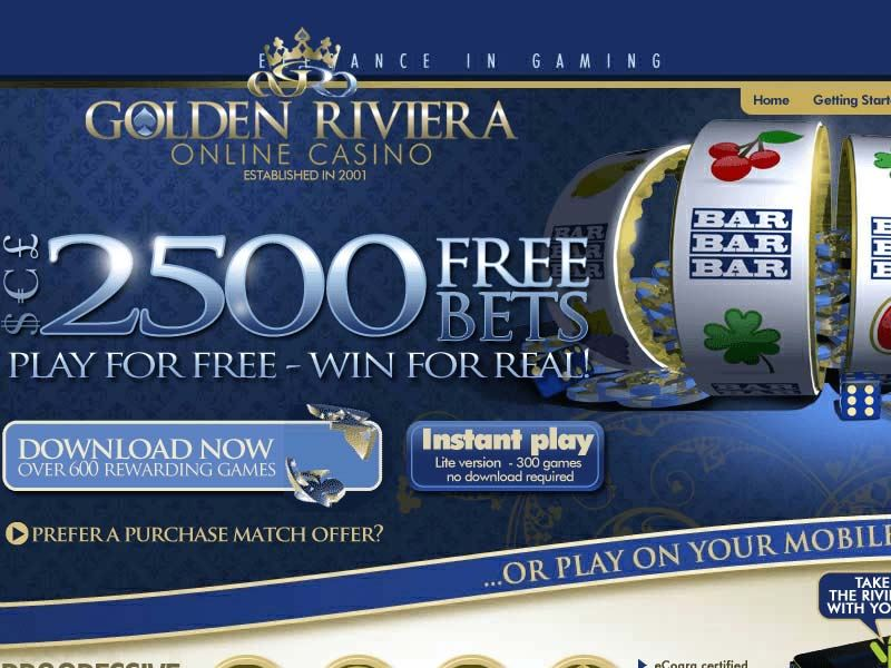 Casino preview image Golden Riviera Casino