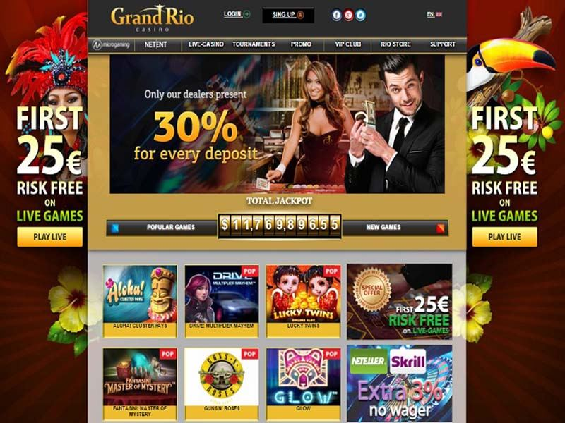 Casino preview image GrandRio Casino