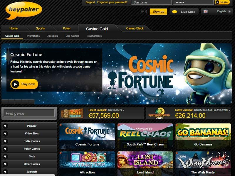 Casino preview image Heypoker Casino