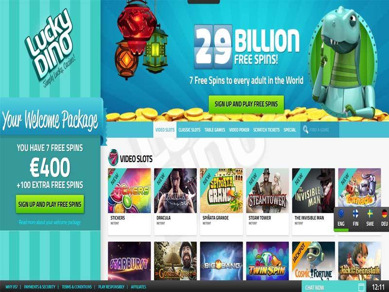Casino preview image LuckyDino Casino