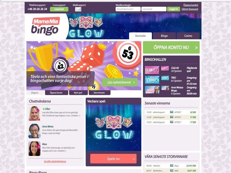 Casino preview image MamaMia Bingo&Casino