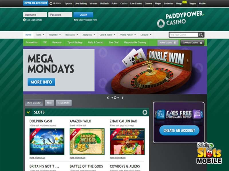 Casino preview image Paddy Power Games & Casino