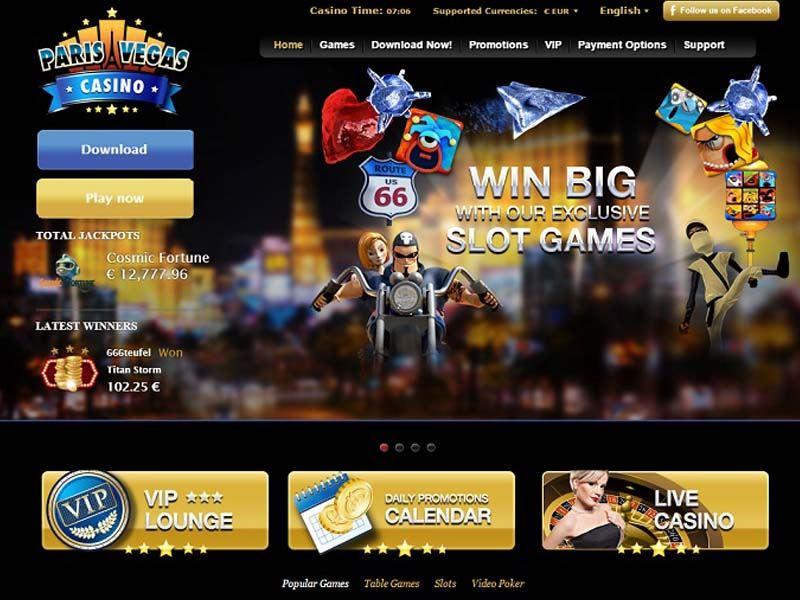 Casino preview image Paris Vegas Casino