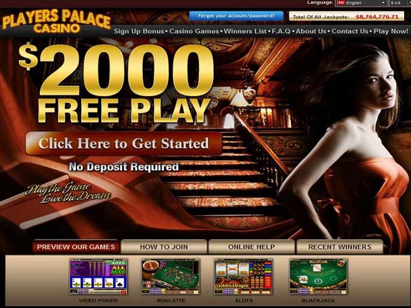 Casino preview image Players Palace Casino