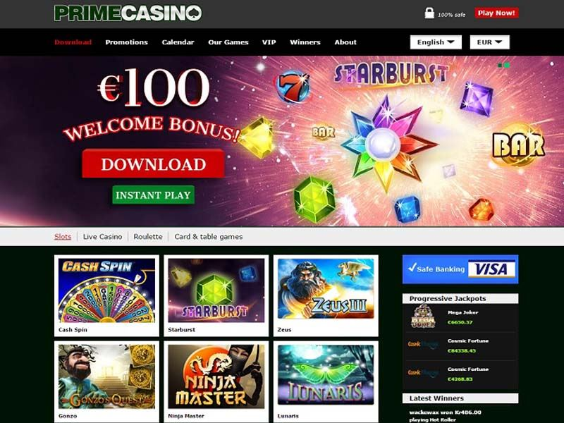 Casino preview image Prime Casino
