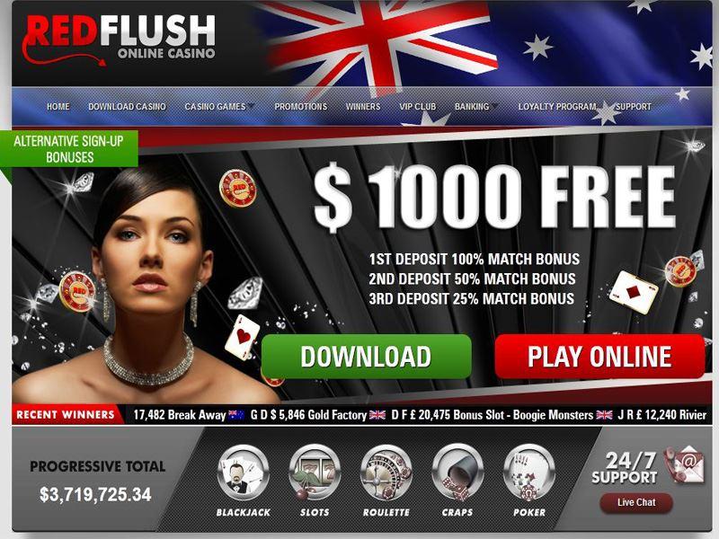 Casino preview image Red Flush Casino