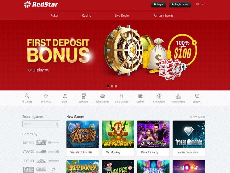 Casino preview image Red Star Casino