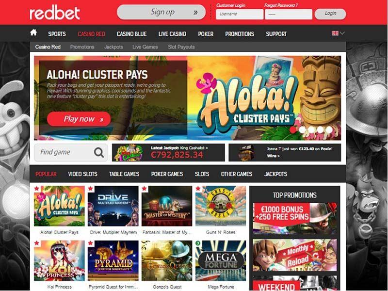 Casino preview image Redbet Casino