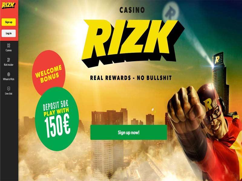 Casino preview image Rizk Casino