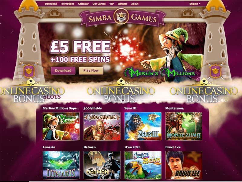 Casino preview image Simba Games Casino