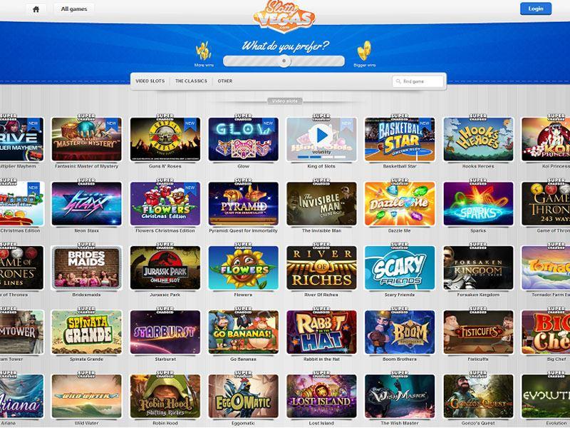 Casino preview image Slotty Vegas Casino