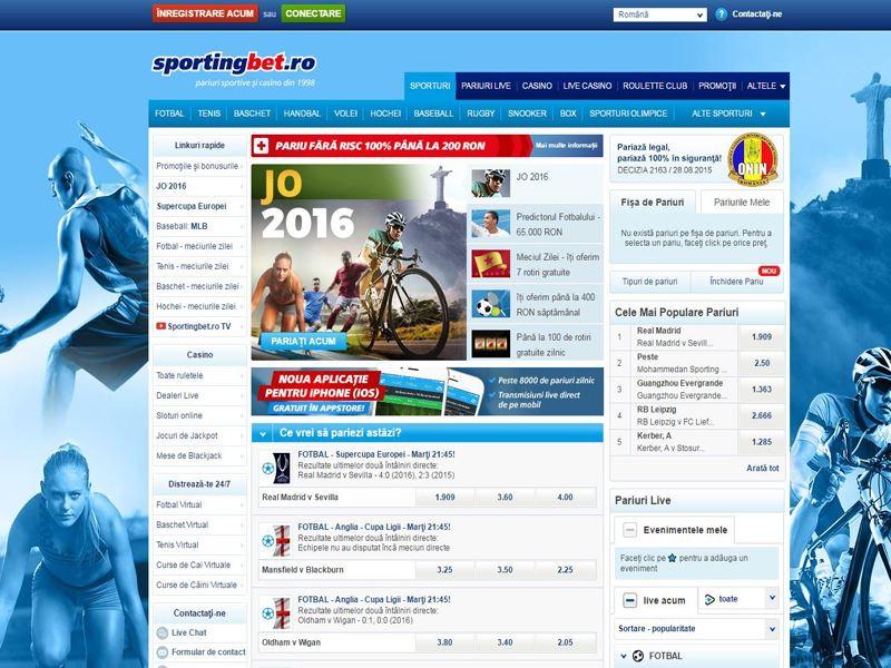 Casino preview image Sportingbet Casino