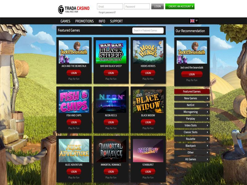 Casino preview image Trada Casino