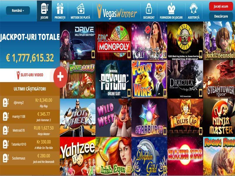 Casino preview image Vegas Winner Casino