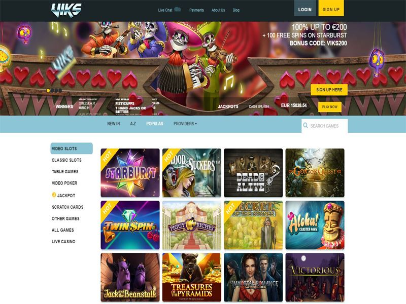 Casino preview image Viks Casino