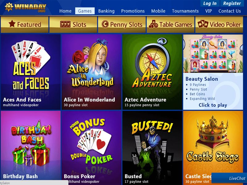 Casino preview image Win a Day Casino