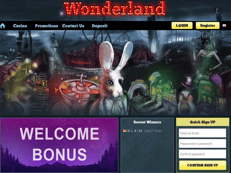 Casino preview image Wonderland Casino