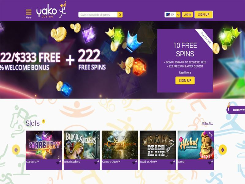 Casino preview image Yako Casino