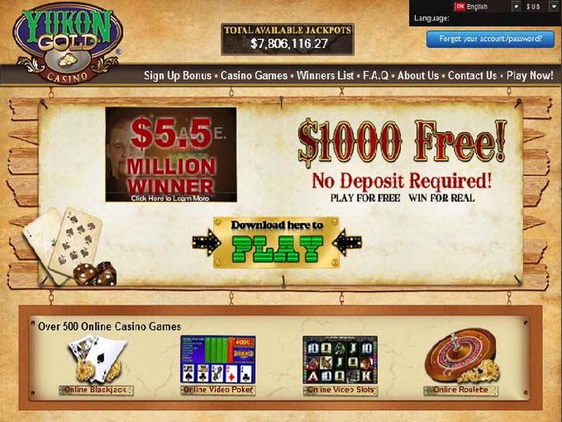Casino preview image Yukon Gold Casino