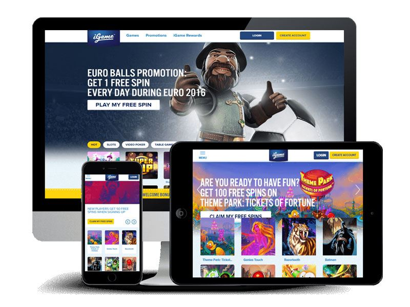 Casino preview image iGame Casino