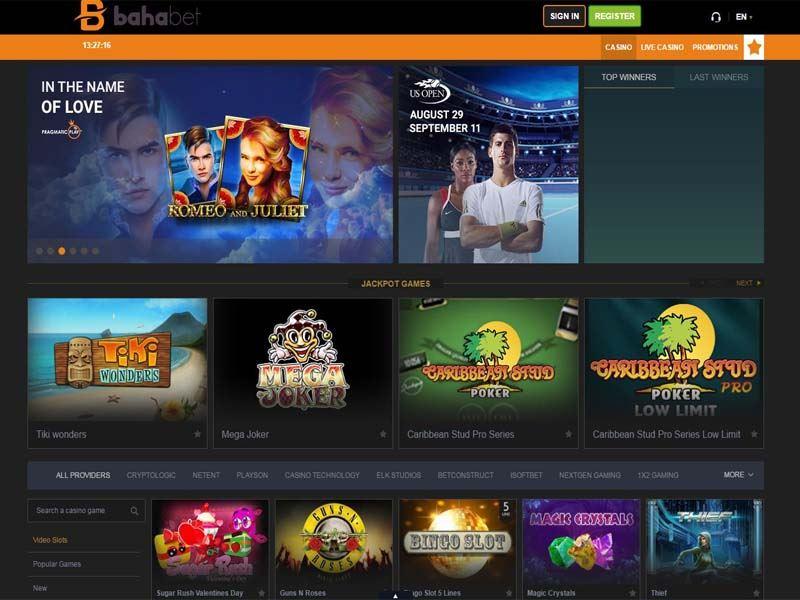 Casino preview image Bahabet Casino