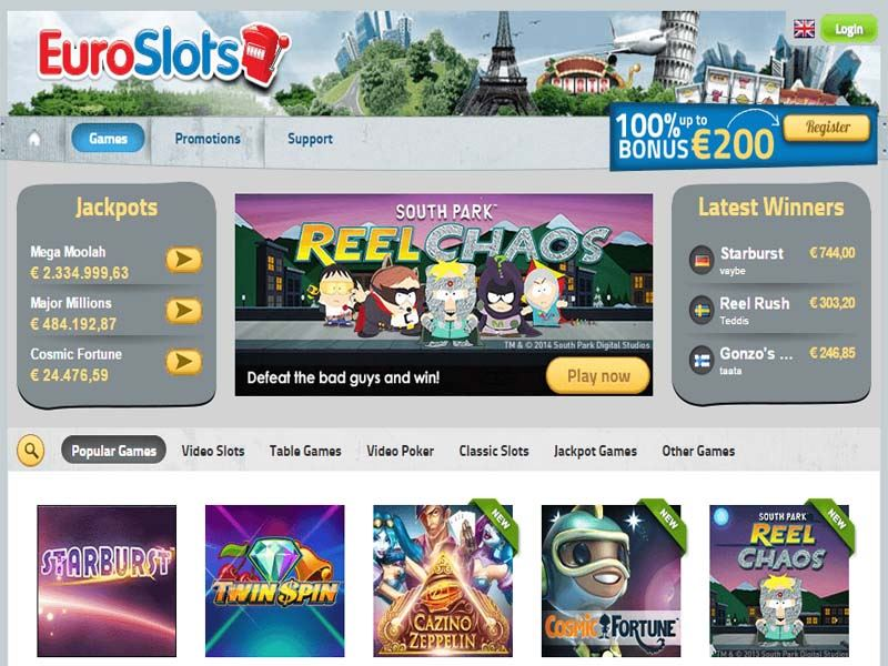 Casino preview image EuroSlots Casino