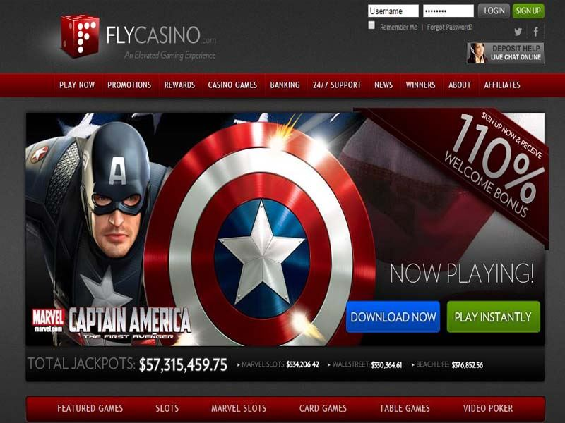 Casino preview image Fly Casino