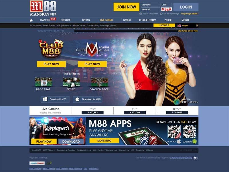 Casino preview image M88 Casino